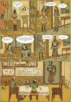 """""""For Maglor took pity upon Elros and Elrond, and he cherished them, and love grew after between them, as little might be thought; """" (J.R.R. Tolkien """"The Silmarillion"""") A short comics about Maglor's..."""