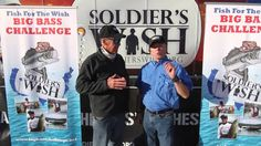 Mark Ochsenbein with Soldier's Wish talk about the Fish for the Wish Big...