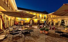 Once home to Incan emperors and Spanish conquistadores, the Palacio del Inka in Cuzco, Peru—near Machu Picchu—just emerged from a two-year, $20 million renovation worthy of the historic building's legacy. While the ancient walls were left intact, the 203 guest rooms and 17 suites in the Luxury Collection hotel were all refreshed with hand-carved Cariniana-wood doors and furniture, colonial-era paintings, and rich jewel-tone textiles. Rooms from $315/night; starwoodhotels.com