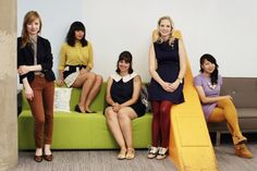 Meet ModCloth's Coolest Employees & Peep Their Colorful SoMa Office
