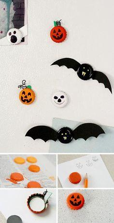 Halloween magnets - 30+ Creative Halloween Ideas  <3 <3