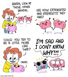 16 Insanely Funny (And Relatable) Webcomics By Owlturd Funny Cute, The Funny, Shen Comics, Owlturd Comix, Rage Comic, The Awkward Yeti, Funny Jokes, Hilarious, Funny Fails