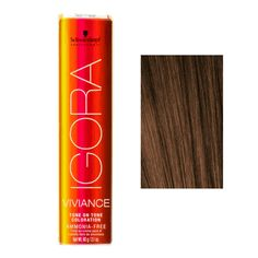 Schwarzkopf Igora Viviance Tone On Tone Coloration - 5-65 Light Auburn Gold Brown