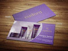 Cartões de visita - Eudora - Impresso - Store R3