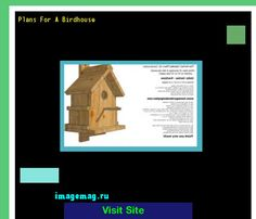 Plans For A Birdhouse 162900 - The Best Image Search