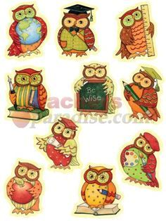 Owl Classroom Decorations | Susan Winget Owl Accents 30 Pk from TeachersParadise.com | Teacher ...