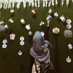 Iphone Wallpaper Vsco, Cartoon Wallpaper Iphone, Casual Hijab Outfit, Ootd Hijab, Muslim Girls, Muslim Women, Tmblr Girl, Hijab Drawing, Hijab Dpz