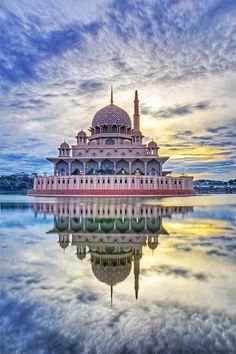 National Mosque at Putrajaya, Malaysia