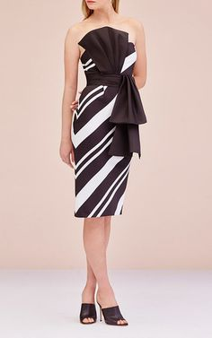 Clara Striped Strapless Dress  by SACHIN & BABI for Preorder on Moda Operandi
