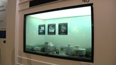 Samsung's transparent touch screens (video)