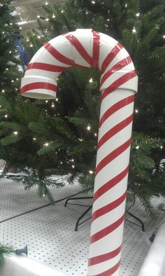 Lighted Candy Cane Decorations Diy Show Off  Candy Canes Diy Christmas And Pvc Pipe