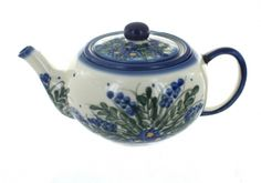 Hyacinth Teapot with Infuser