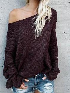 9bd8295d0b0 Chicnico Women s Knit Going out Street chic Gray Long Sleeve Cotton Fall  Sweaters Cardigan