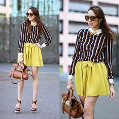 http://lookbook.nu/look/4939452-Oasap-Stripe-Blouse-Yellow-Bowtie