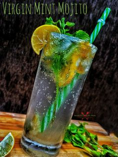 Vegetarian Platter, Vegetarian Recipes, Easy Summer Meals, Summer Recipes, Refreshing Drinks, Summer Drinks, Non Alcoholic Mojito, Mint Mojito, Mojito Recipe