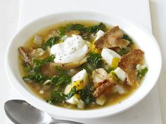 Spicy Chard Soup from FoodNetwork.com