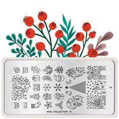 MoYou London- Noel- 14 – Beautometry Stamping Nail Polish, Nail Stamping Plates, Christmas Images, Christmas Themes, Nail Stamper, London Nails, Nail Art Images, Stainless Steel Nails, Noel