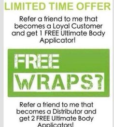 Have you tried that crazy wrap thing!