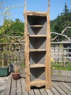 old barn wood ideas | ... Love / Coolest idea in using old barn wood. I love corner cabinets