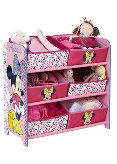 Minnie Mouse 6 Bin Storage for Cassandra's bedroom