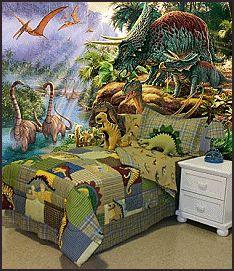 dinosaur bedding - Dinosaur Murals