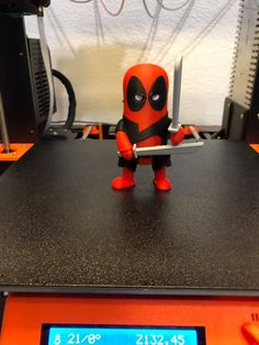 Deadpool printed by Justin Reed #mmu2 #toysandgames