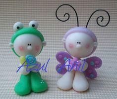 Figuras en porcelana fría / cold porcelain