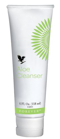 Forever Living - Aloe Cleanser is prepared from hypo-allergenic ingredients to create a light, non-greasy, non-irritating lotion that is pH and moisture-balanced. Use it as the first step in preparing your skin for a full Aloe Facial, or simply in the daily, routine skin care program of our Aloe Restorative Beauty Regime. Aloe Cleanser contains just the right amount of jojoba oil and water to leave your skin feeling fresh and thoroughly clean without drying.