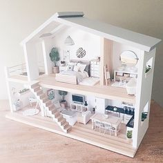 Diy Doll House Modern Plans S