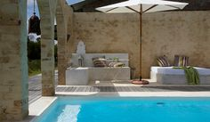 Lose yourself totally in the serenity and natural beauty. Whether you choose to relax and read next to the pool