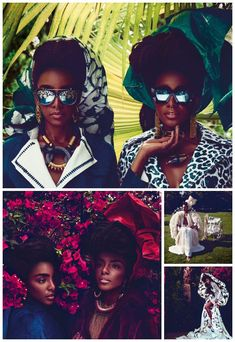 Cipriana & TK Quann Land the Cover of Condé Nast Traveller Magazine Including a 12 Page Spread in the September Issue