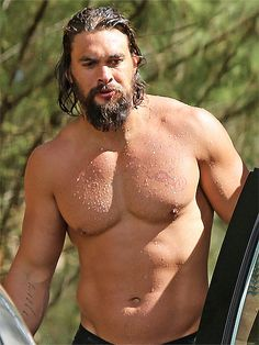 "JASON MOMOA Looking good on the beach comes easily for the former Game of Thrones actor, 35, thanks to a simple workout move: ""The way I stay in shape is by having lots of sex,"" he told PEOPLE."