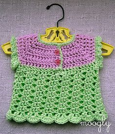 Baby sweater patterns aren't just for winter time! The Summer Breeze Baby Sweater is a sweet little crochet baby sweater vest that's perfect for warmer weather. Made of cool cotton with open, lightweight stitches, it's a great layer for warding off an evening chill, or all on it's own as a little top!