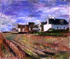 Henri Matisse - Farms in Brittany,  Belle-Ile