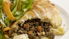The beauty of this recipe is that the pies can be made up in advance and used as required. Kevin Dundon Recipes, Real Food Recipes, Great Recipes, Mini Pastries, Natural Yogurt, Seasonal Food, Side Salad, Tray Bakes, Food To Make