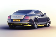 Special Bentley Continental GT Speed Cars Inspired by Breitling Jets