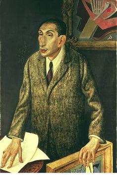Title: The Art Dealer Alfred Flechtheim  Year: 1926