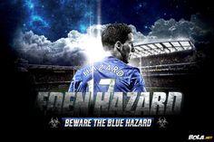 Hazzard the youg blues forward