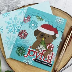 Making the Cut: Christmas in July Santa Pup - Simon Says Stamp Blog