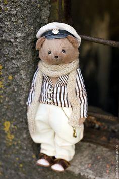 Teddy Bear Ostap - brown, bear, bender, the hero of the film, action hero