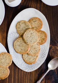 Chai cookies - I can use this recipe for any tea! HELLLLOOOO tea party!