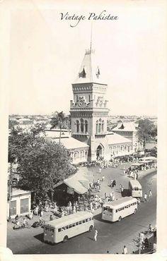 Empress Market, Saddar Karachi 1960's.