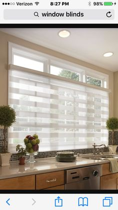 Window Blinds, Kitchen Windows, Bedroom Ideas, Sunroom Blinds, Shades,  Shades Blinds