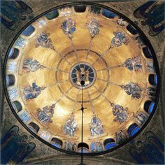 Basilica de San marco  : The Descent of the Holy Spirit on the Apostles