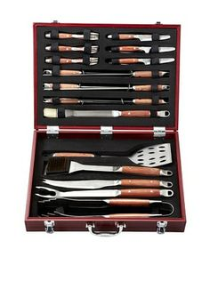 60% OFF BergHOFF Forged 25-Piece BBQ Set in Case