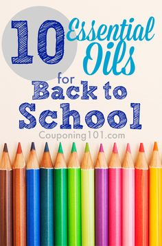 a list of ten essential oils that I think would be helpful for kids (and parents!) …