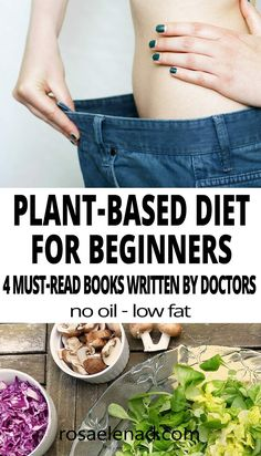 4 Popular Plant-Based Diet Books Written by Doctors 4 Plant-Based Diet Books Written by 3 of the most Popular Doctors Plant Based Diet Books, Plant Based Eating, Vegan Recipes Beginner, Diet Recipes, Athletes Diet, Vegan Protein Sources, Plant Based Protein, Recipes For Beginners, Plant Based Recipes