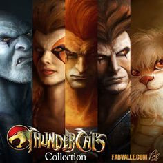 ThunderCats Collection by Fabvalle on DeviantArt - Christophorus Hodgen Cartoon Cartoon, Morning Cartoon, Cartoon Kunst, Anime Comics, Comics Und Cartoons, Old School Cartoons, Marvel Comics, Comic Book Characters, Comic Character
