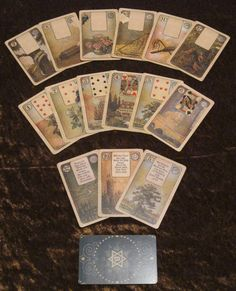 Love Fortune Telling Letters Name Playing Cards