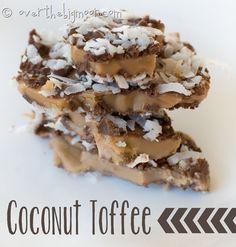 Coconut Toffee Almond Roca Bars from MyRecipeMagic.com